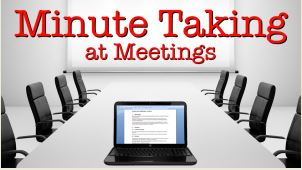 Minute Taking Course